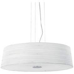 Светильник подвесной Ideal lux Isa SP6 D60 макс.6x60Вт Е27 IP20 230В Хром/Белый Металл/ПВХ/Ткань 016535