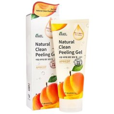 Ekel Пилинг-скатка Natural Clean Peeling Gel Apricot с экстрактом абрикоса 180 мл