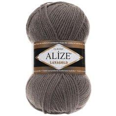 Пряжа Alize LanaGold (348 т.-серый) 5 шт.