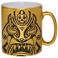 Золотая кружка Татуировка сумоист Drabs