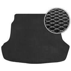 Коврик багажника Vicecar EV22004R для Peugeot 207 черный/черный кант