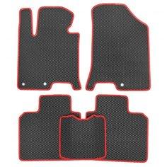 Комплект ковриков для салона ЕВА Toyota Camry Solara II 2003 - 2009 (красный кант)Vicecar