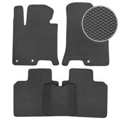 Комплект ковриков для салона ЕВА Subaru XV 2011 - 2017 (черный кант)Vicecar