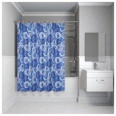Штора для ванной комнаты, 200*180см, полиэстер, B60P218i11, IDDIS