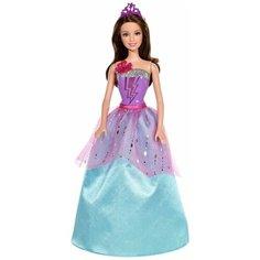 Интерактивная кукла Barbie Супер-принцесса Корин, 29 см, CDY62