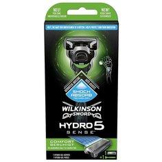 Wilkinson Sword / Schick / Hydro5 Sense Comfort / Бритвенный станок с 1 кассетой (коробка)