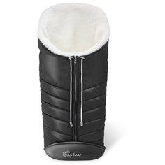 Конверт-мешок Esspero Cosy White 90 см black