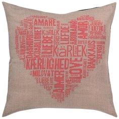 Подушка Любовь, розовый набор для вышивания Permin