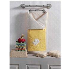 Конверт-одеяло Kidboo Butterfly 90 см желтый
