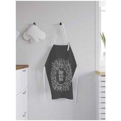 """Фартук женский для готовки JoyArty """"Счастье в мелочах"""", универсальный размер, ap-67466"""