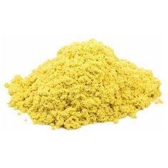 Кинетический песок Космический песок базовый, желтый, 3 кг, пластиковый контейнер