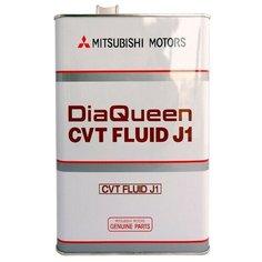 Трансмиссионное масло Mitsubishi DiaQueen CVT Fluid J1 4 л