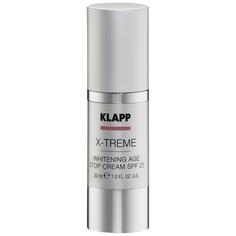 Отбеливающий антивозрастной Klapp X-treme Whitening Age Stop SPF25, 30 мл