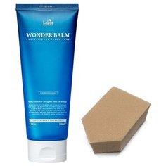 LADOR Увлажняющий экспресс-бальзам для волос WONDER BALM, 200мл + спонж
