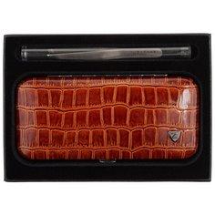 Маникюрный набор (MSFE-501-S) коричневый Zinger
