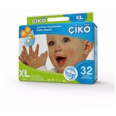 Ciko подгузники XL (12+ кг) 32 шт.