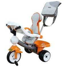 Трехколесный велосипед Coloma Y Pastor Дидактик 3 46567, оранжевый/серый/белый