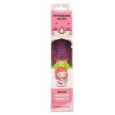 """GINKO/Расческа для распутывания ILMH """"Spider"""" 1501 розовая глянцевая M в детской упаковке"""