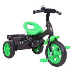 Трехколесный велосипед Galaxy Лучик Vivat 4, зеленый