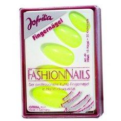Желтые накладные ногти Jofrika