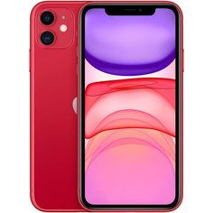 Смартфон Apple iPhone 11 64GB, красный