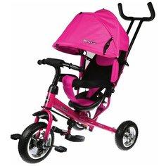 Трехколесный велосипед Moby Kids Start 10x8 Eva, розовый/черный