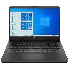 Ноутбук HP 14s-fq0087ur 3B3M1EA, черный