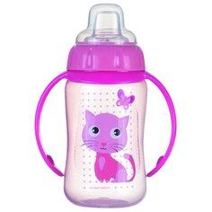 Поильник-непроливайка Canpol Babies 56/512, 320 мл розовый