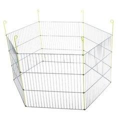 Вольер для собак Voltrega 595V 120х240х61 см серый