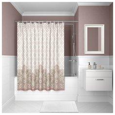 Штора для ванной комнаты, 200*180см, полиэстер, D08P218i11, IDDIS