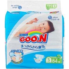 Goo.N подгузники S (4-8 кг), 84 шт. Goon