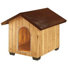 Будка для собак Ferplast Domus Maxi 111.5х132х103.5 см коричневый