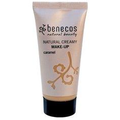 Benecos Тональный крем Natural creamy make-up, 30 мл, оттенок: caramel