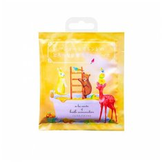 Charley Sommelier Соль для ванн с экстрактом манго и апельсином, 40 г