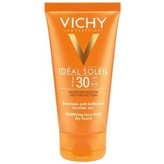 Vichy эмульсия Capital Ideal Soleil Mattifying Face Dry Touch, SPF 30, 50 мл