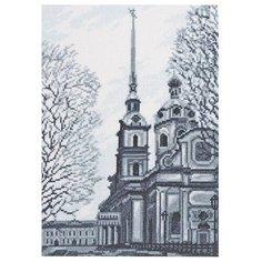 Палитра Набор для вышивания Петропавловский собор, Санкт-Петербург 19 х 27 см (08.025)