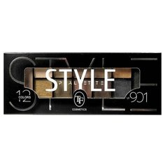 TF Cosmetics Палетка теней Style Palette Eyeshadow 901