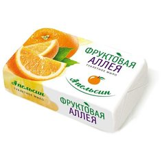 Мыло кусковое Фруктовая Аллея Апельсин, 90 г