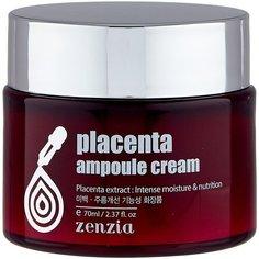Zenzia Placenta ampoule cream Крем для лица, 70 мл