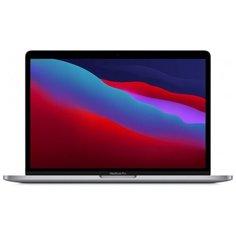 "Ноутбук Apple MacBook Pro 13 Late 2020 (Apple M1 MHz/13.3""/2560x1600/8GB/2TB SSD/DVD нет/Apple graphics 8-core/Wi-Fi/Bluetooth/macOS) Z11C0002W, серый космос"