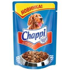 Влажный корм для собак Chappi говядина 100 г