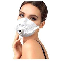 3М / Респиратор / маска 3M 9161 с клапаном выдоха защитная (не медицинская)