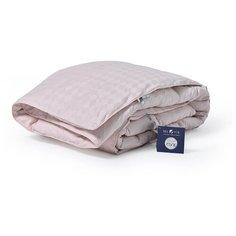 Одеяло БелПоль ЭДИНБУРГ гусиный пух/сатин-жаккард Пудра, двуспальное 172*205 см