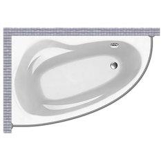 Карниз для ванной Banoperito Emilia 150x95 Асимметричный Good Home Shop