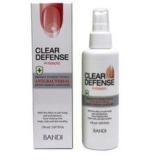 Спрей-антисептик для кожи и ногтей «Надежная защита» / CLEAR DEFENSE ANTISEPTIC 150 мл Bandi