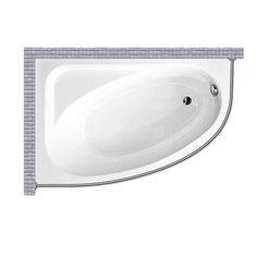 Карниз для ванной Besco Cornea 150x100 Асимметричный Good Home Shop