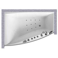 Карниз для ванной Balteco Cali 170x117 Асимметричный Good Home Shop