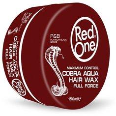 RedOne Аква-воск для волос ультрасильной фиксации Aqua Hair Wax COBRA, 150 мл