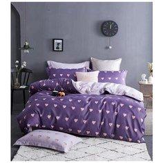 Комплект постельного белья Mency House FH Евро, Поплин, наволочки 50x70, 70х70