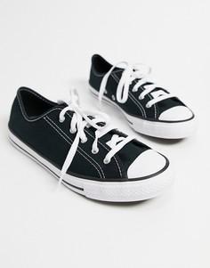 Черные кроссовки Converse Chuck Taylor Dainty-Черный цвет